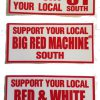 Set of 3 Support 81 stickers